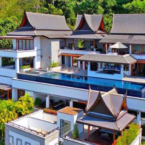17 Villa Yang Som Phuket - Aerial Shoot