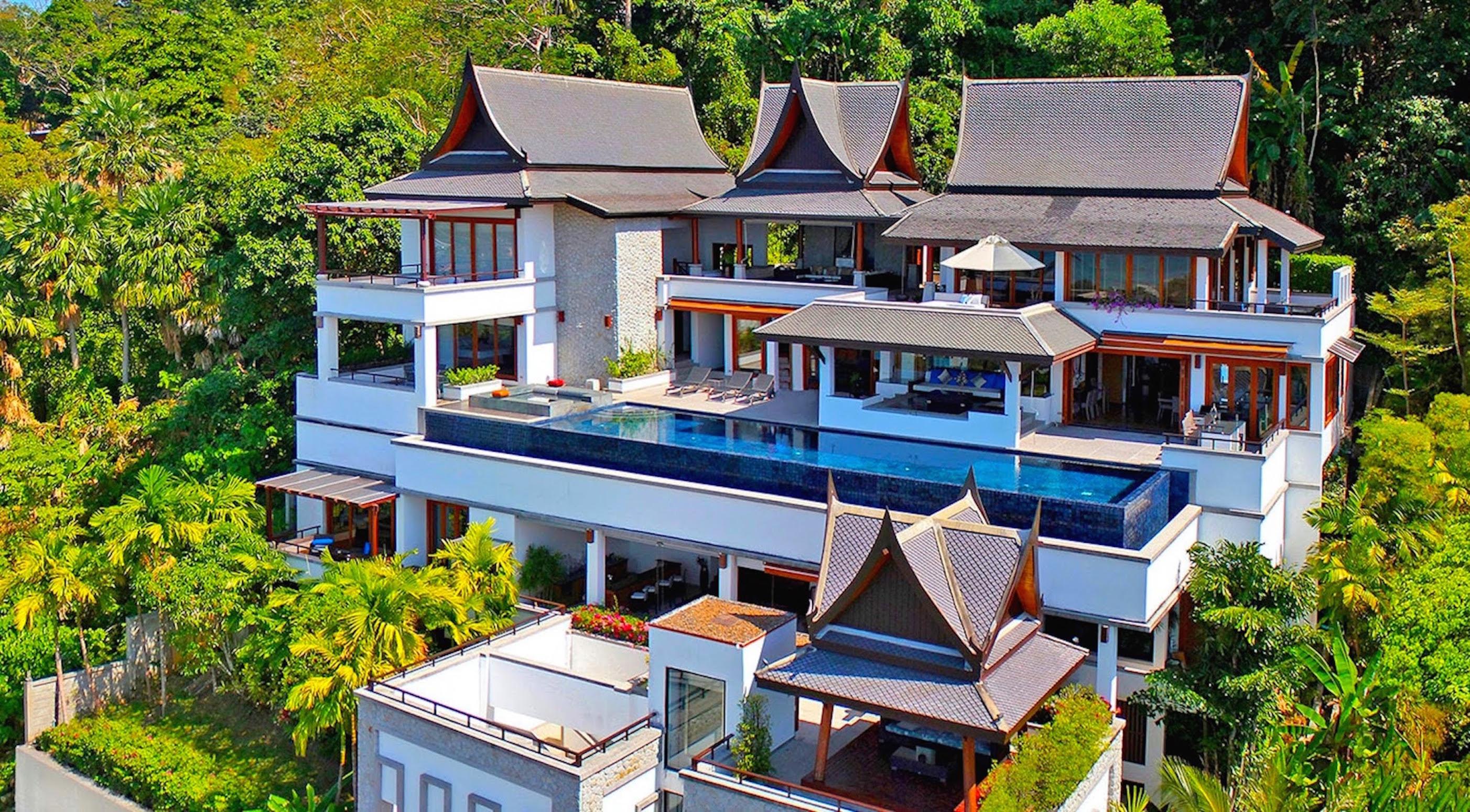 17 Villa Yang Som Phuket – Aerial Shoot