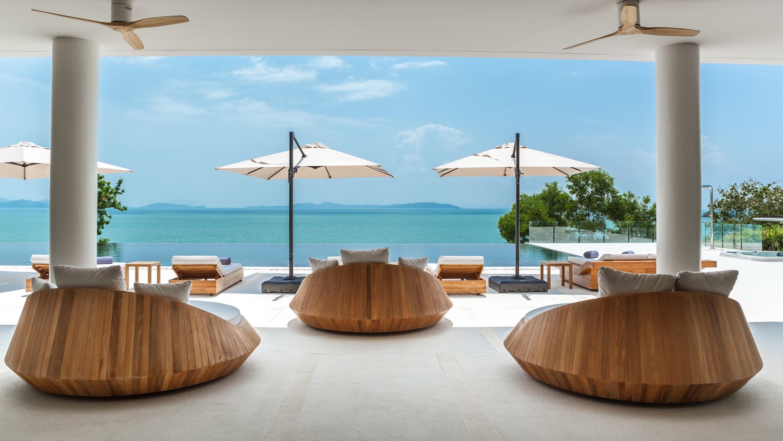 01 – Villa Amarapura Phuket – Cape Yamu – Open Living Space