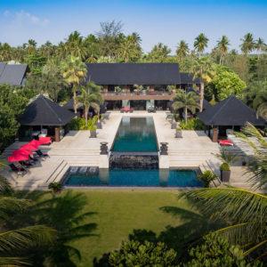 6. - The villa